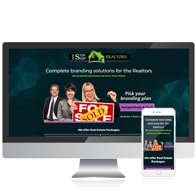 Real Estate Profile Page